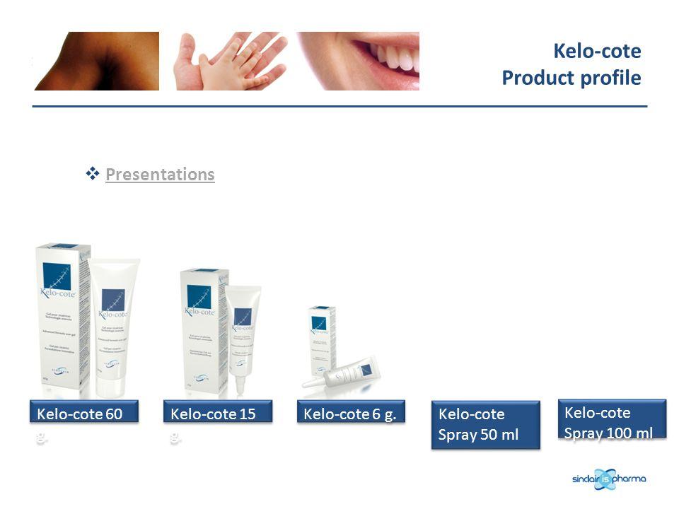Kelo-cote Product profile Presentations Kelo-cote 60 g.