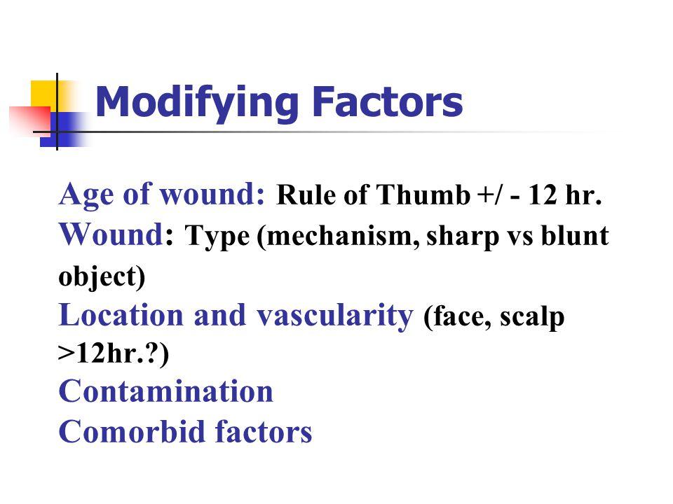 Modifying Factors