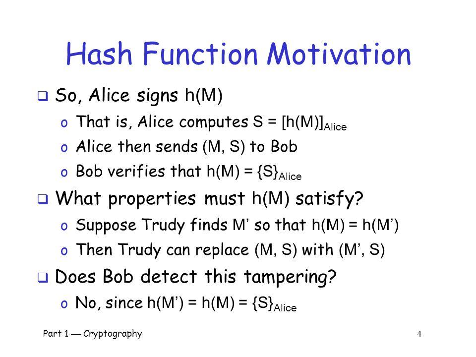 Hash Function Motivation
