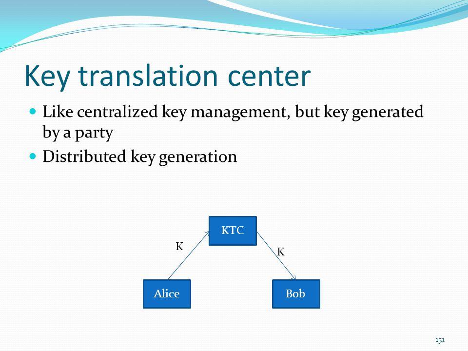 Key translation center