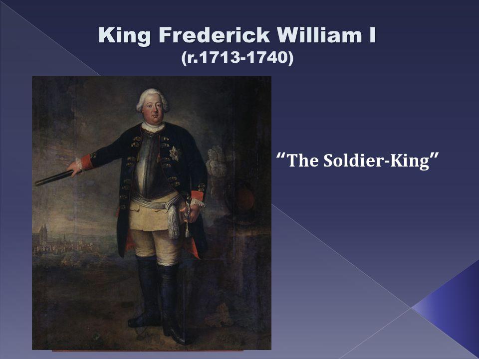 King Frederick William I