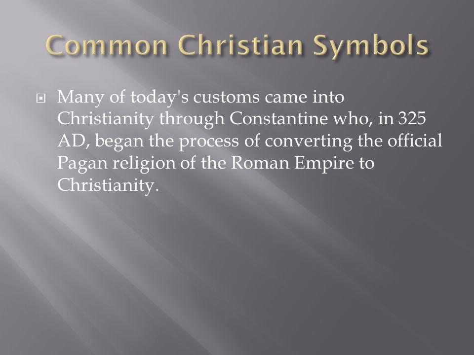 Common Christian Symbols