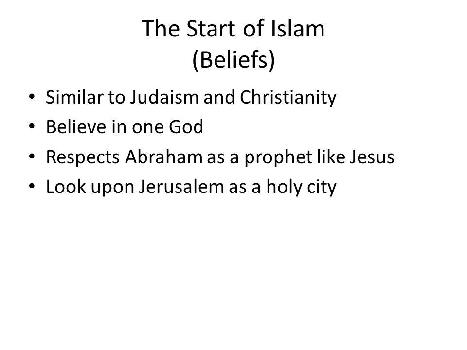 The Start of Islam (Beliefs)