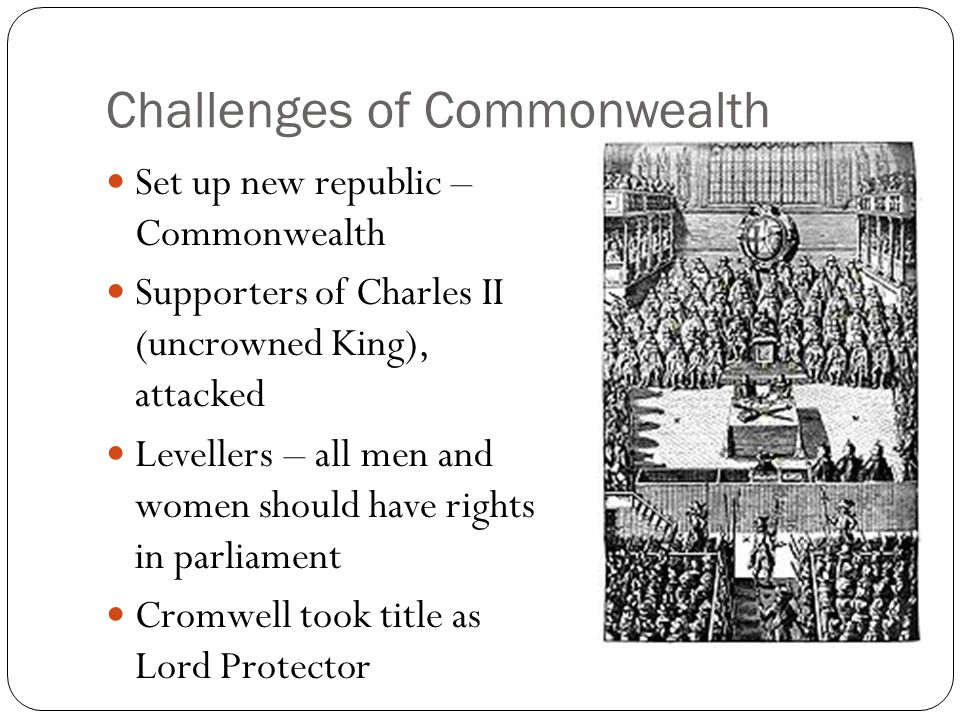 Challenges of Commonwealth
