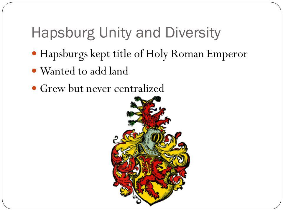 Hapsburg Unity and Diversity