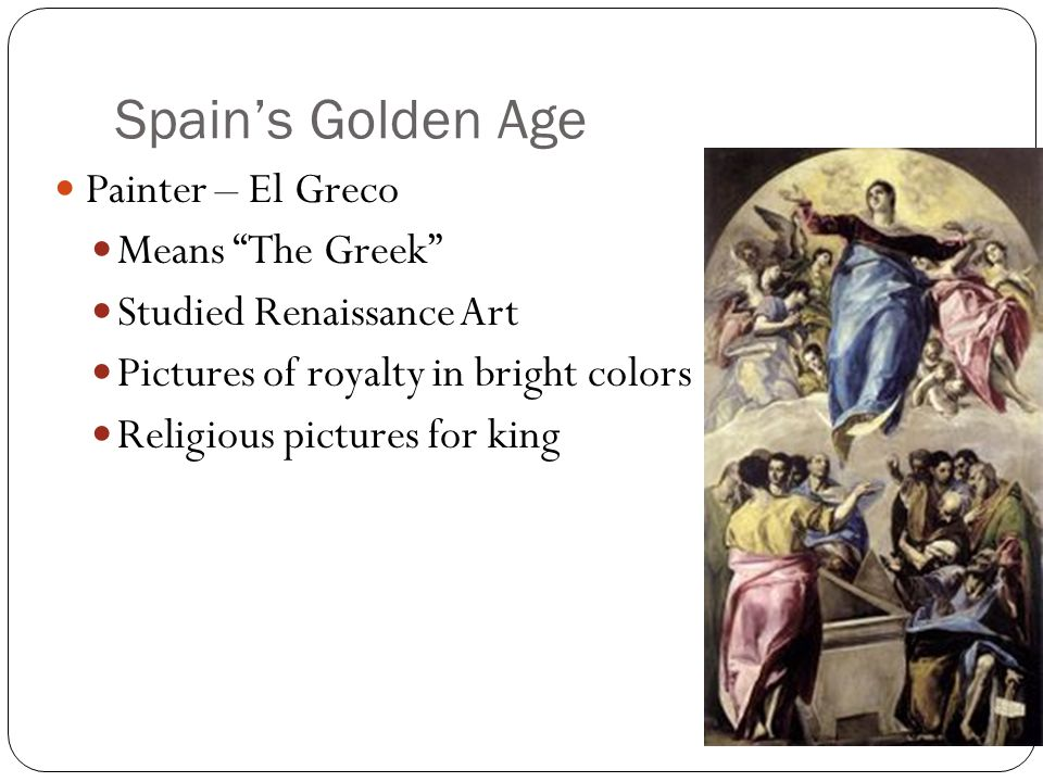 Spain's Golden Age Painter – El Greco Means The Greek