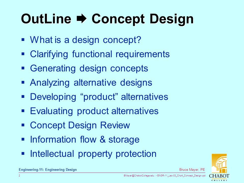 OutLine  Concept Design