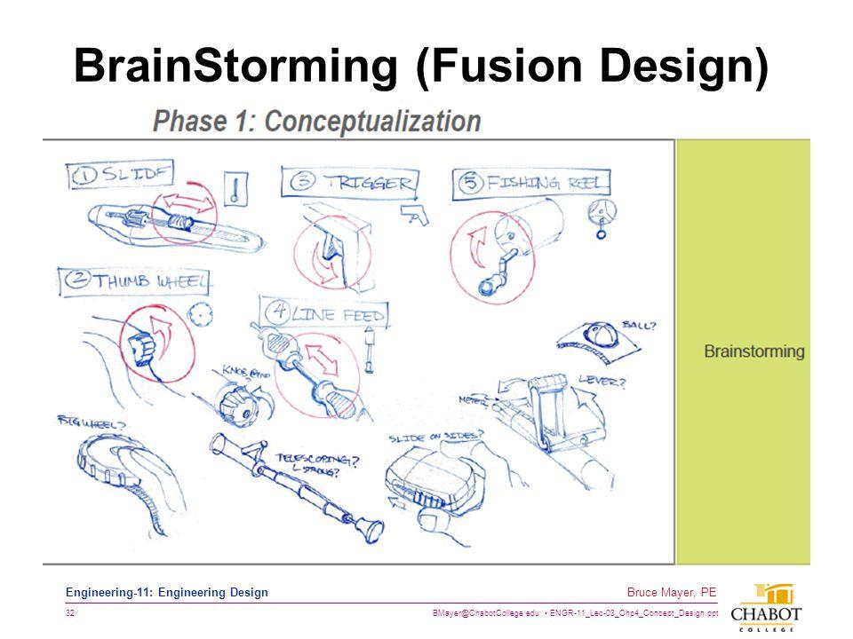 BrainStorming (Fusion Design)