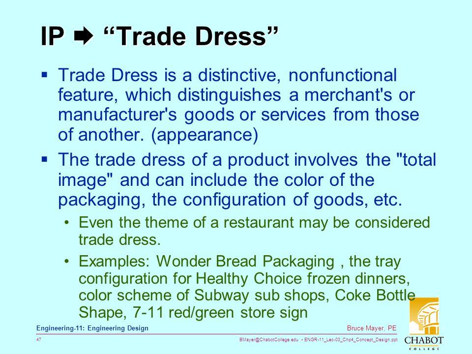 IP  Trade Dress