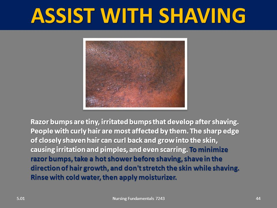 ASSIST WITH SHAVING 5.01.