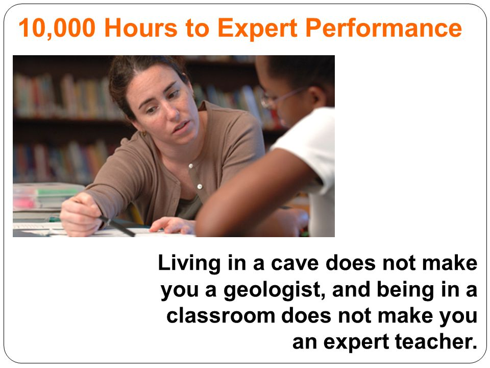 10,000 Hours to Expert Performance
