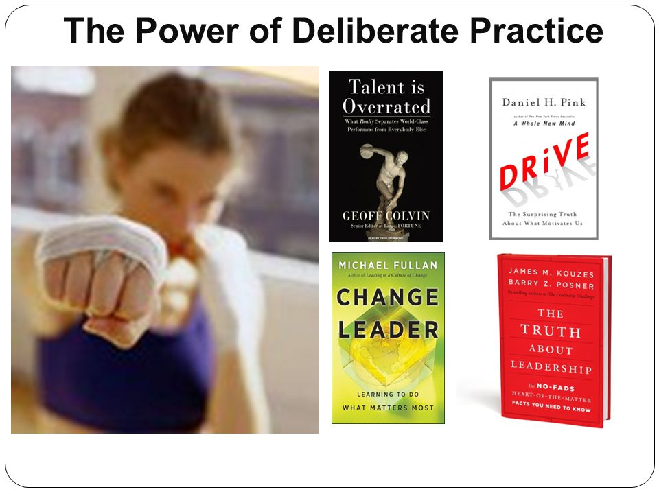 The Power of Deliberate Practice