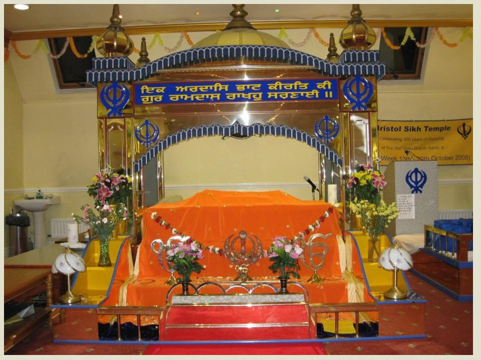 Sikhism The Sikh holy book is the Guru Granth Sahib which Sikh's believe is the living embodiment of the Guru.