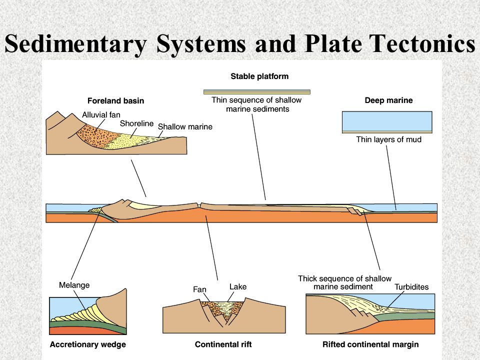 Sedimentary Systems and Plate Tectonics
