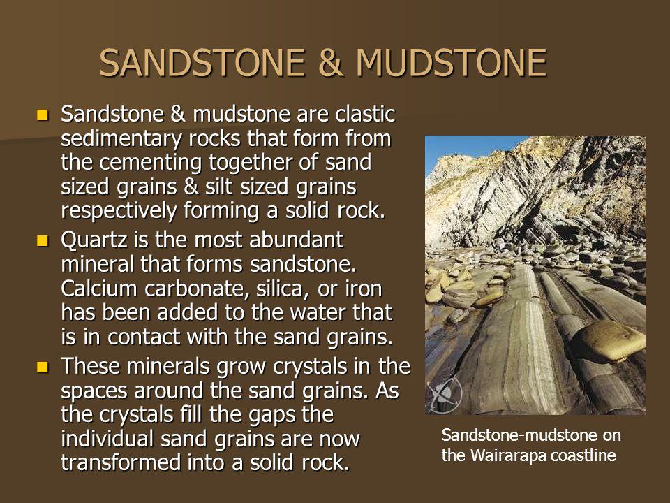 SANDSTONE & MUDSTONE