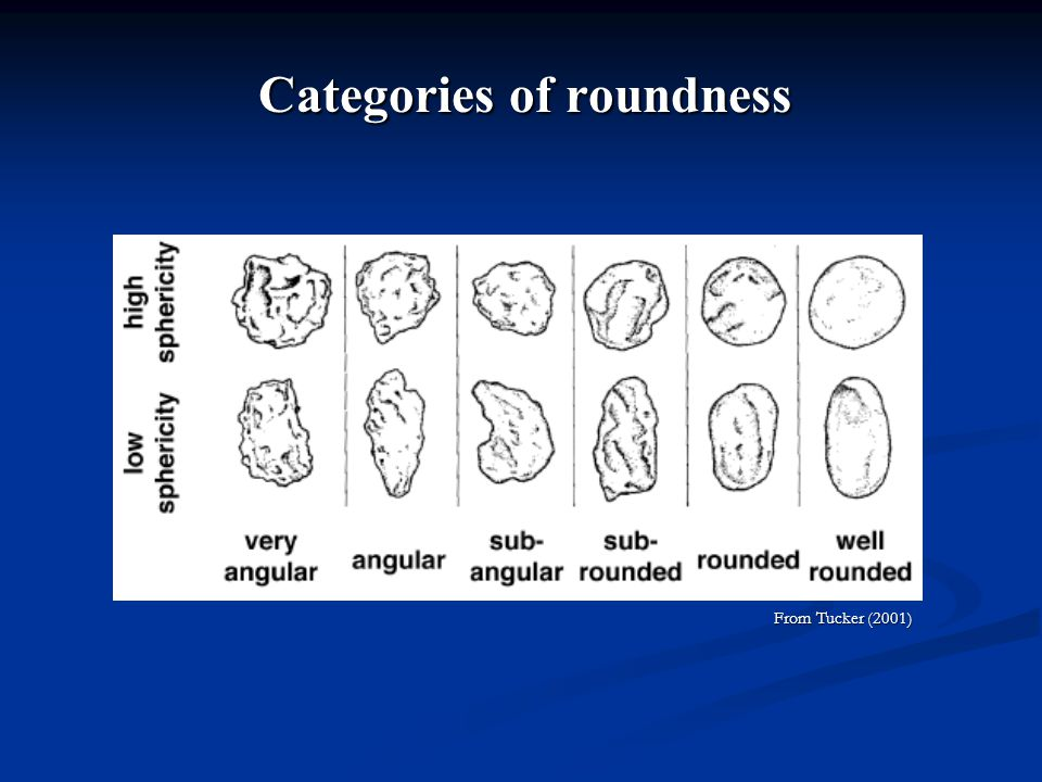 Categories of roundness