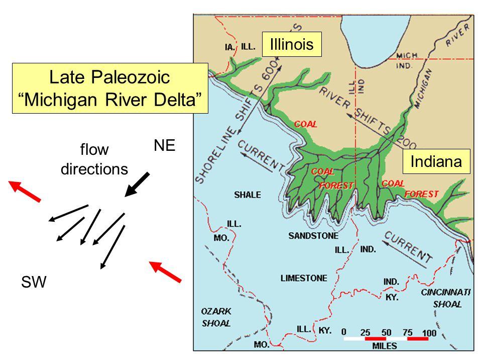 Michigan River Delta