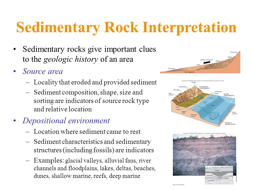 Sedimentary Rock Interpretation