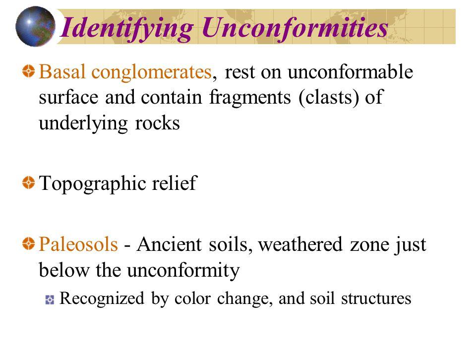 Identifying Unconformities
