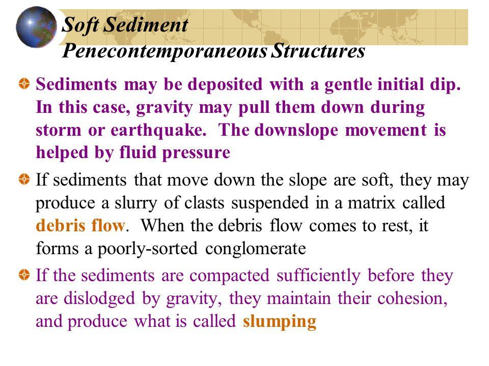 Soft Sediment Penecontemporaneous Structures