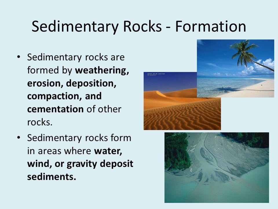 Sedimentary Rocks - Formation
