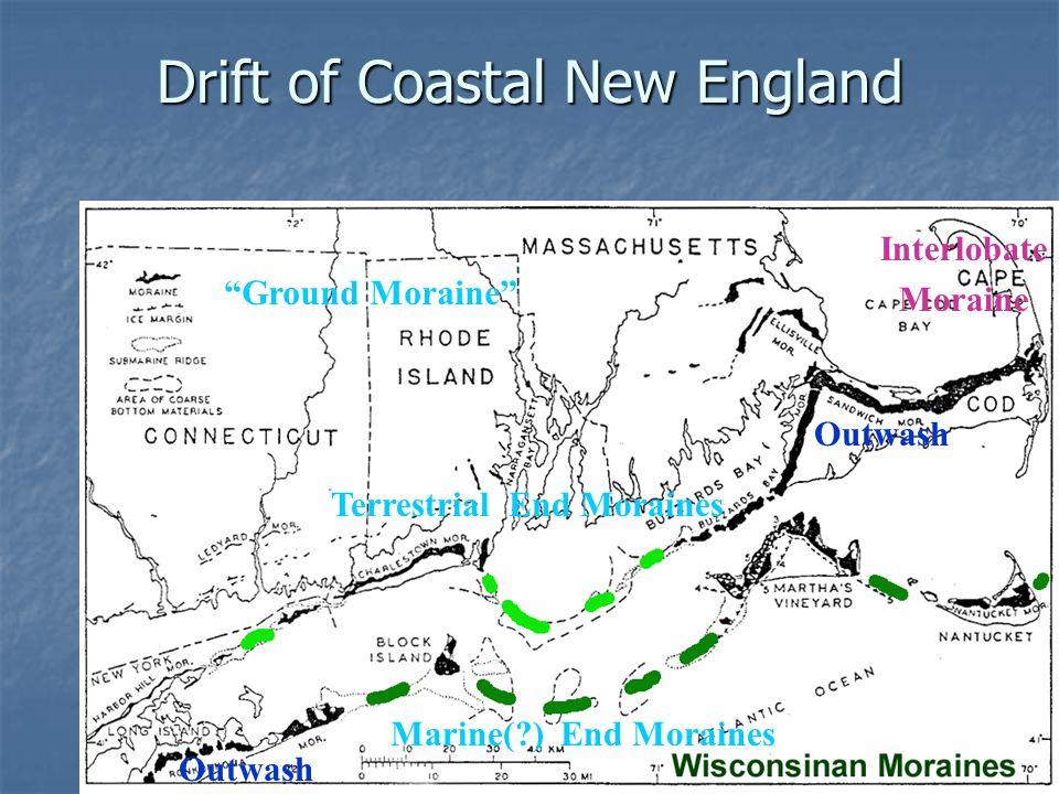 Drift of Coastal New England