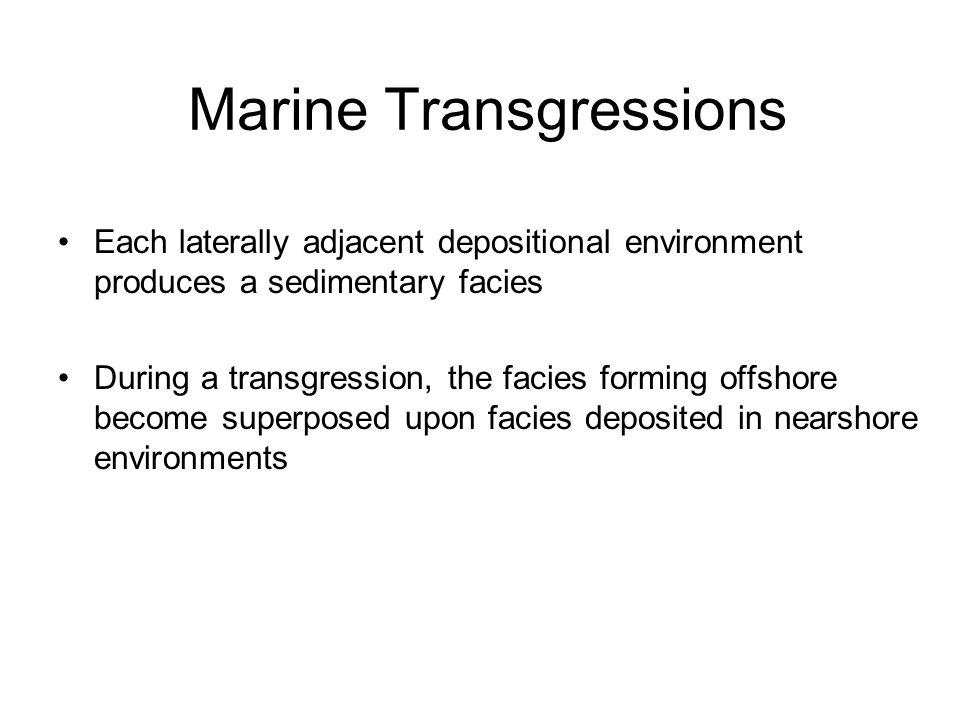 Marine Transgressions
