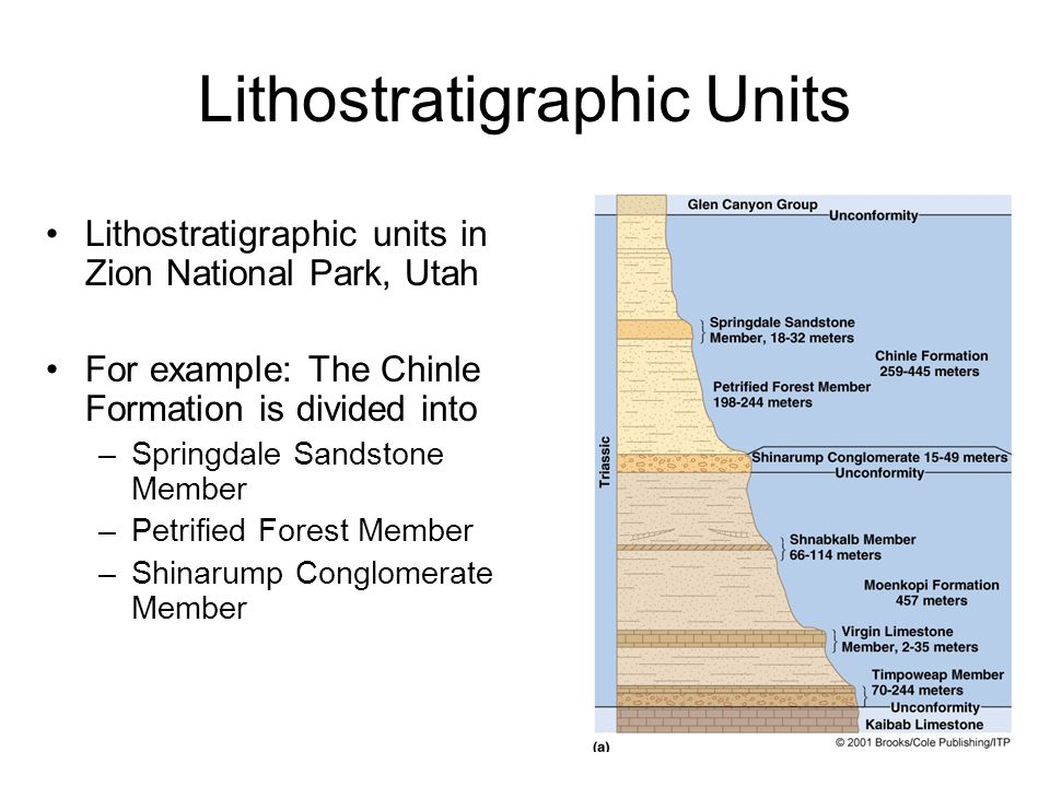 Lithostratigraphic Units