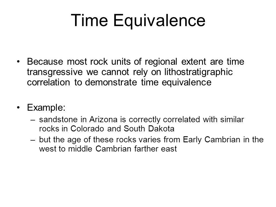 Time Equivalence