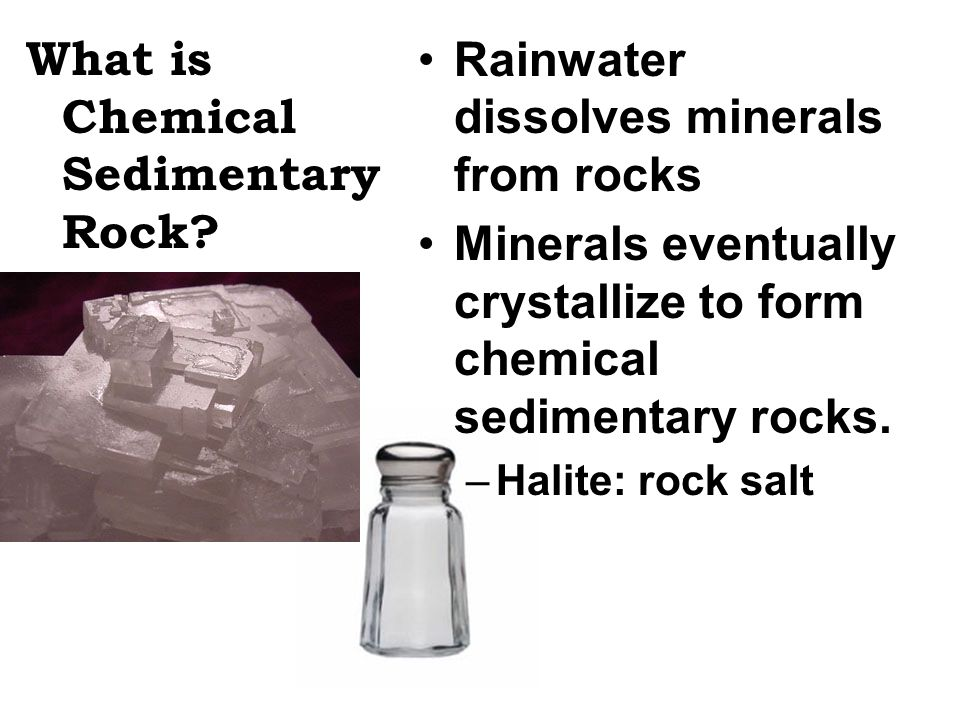 What is Chemical Sedimentary Rock