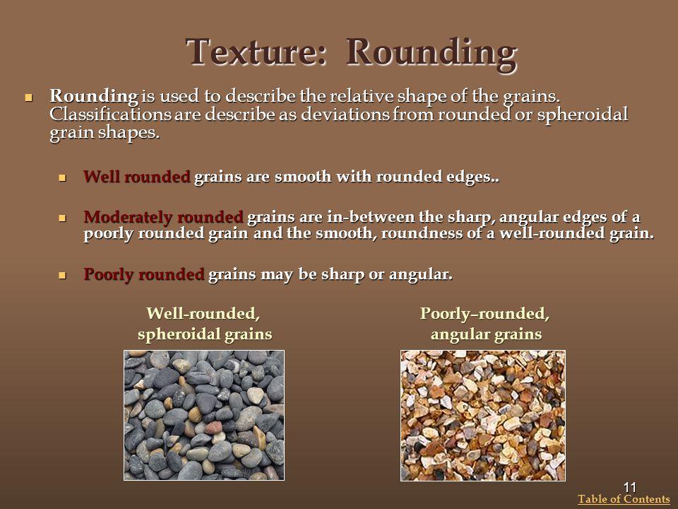 Texture: Rounding