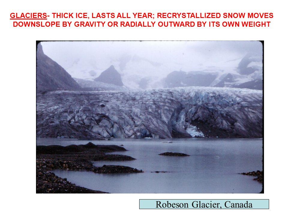 Robeson Glacier, Canada