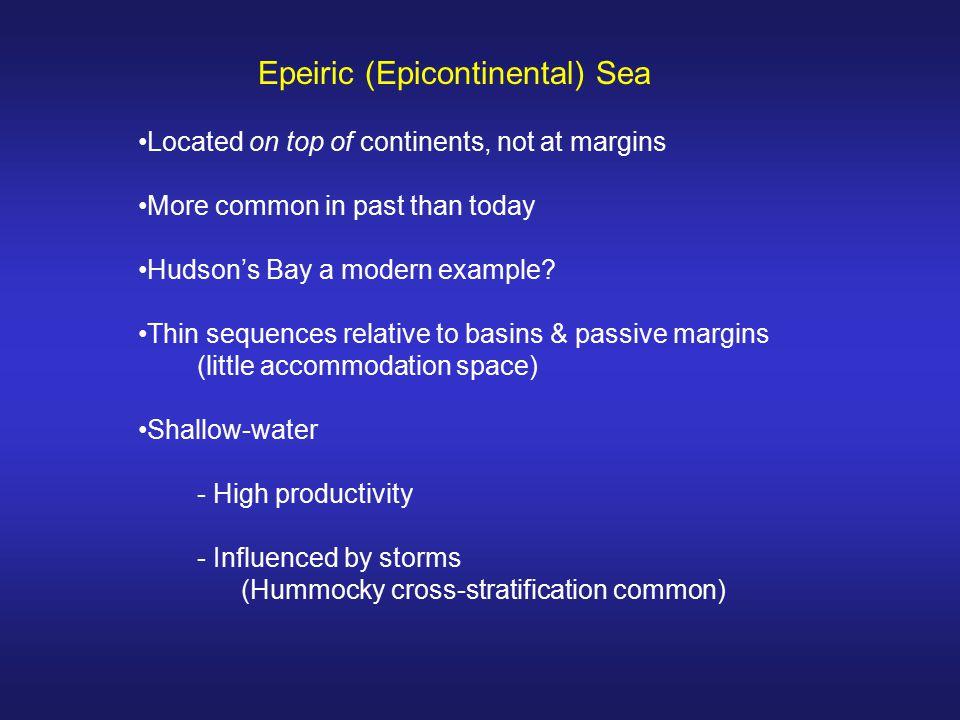 Epeiric (Epicontinental) Sea