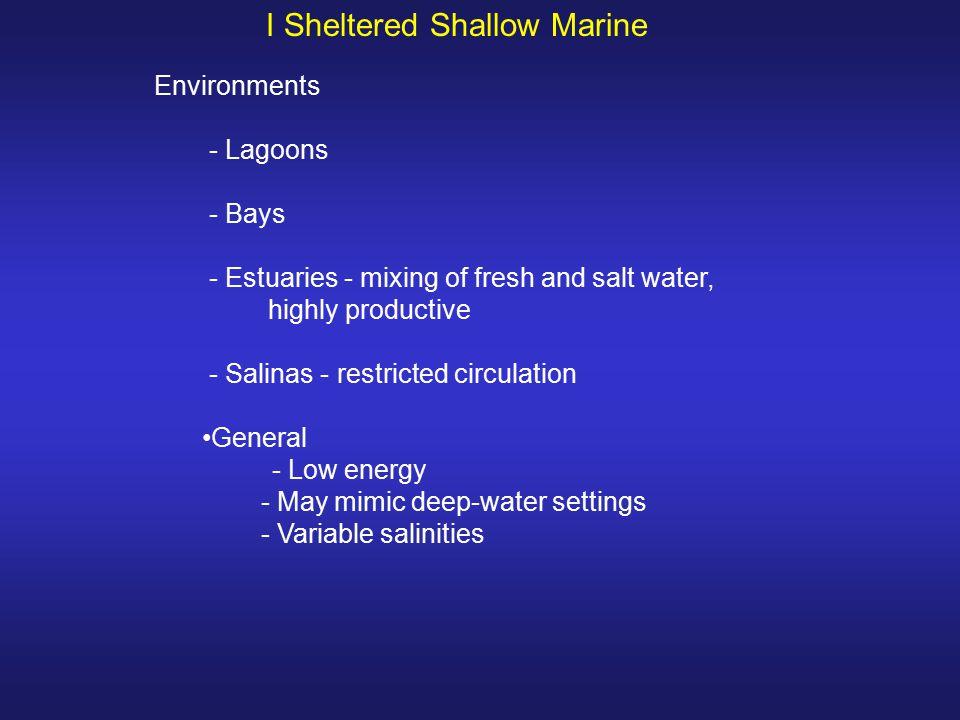 I Sheltered Shallow Marine
