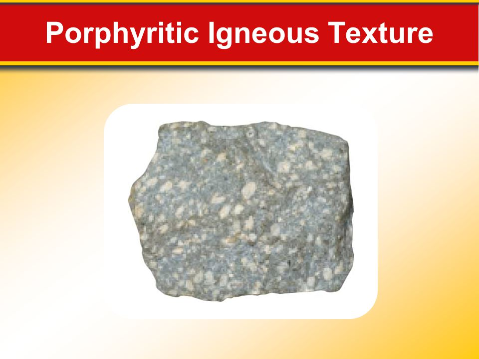 Porphyritic Igneous Texture