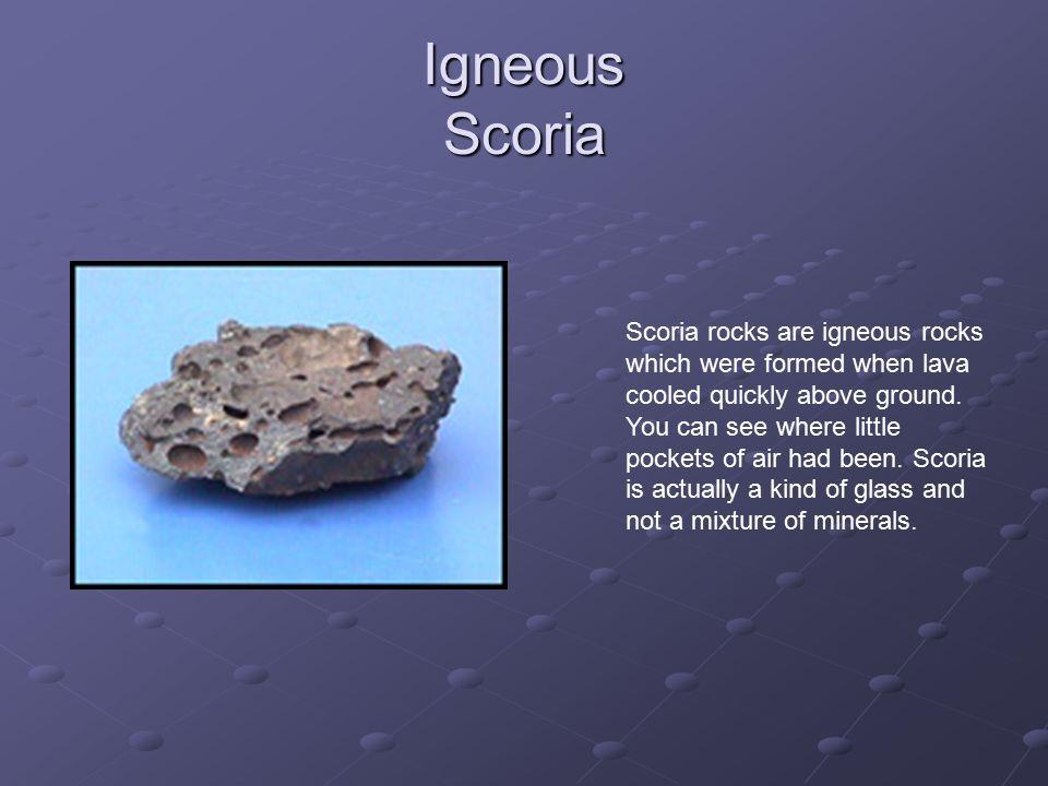 Igneous Scoria