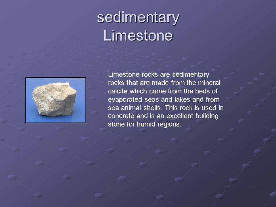 sedimentary Limestone