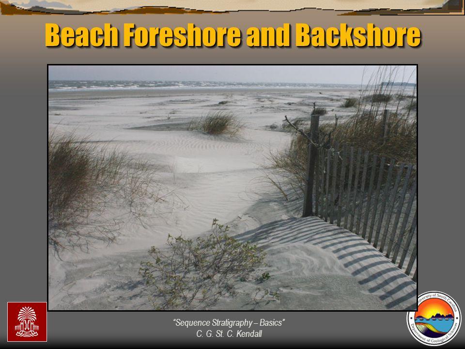 Beach Foreshore and Backshore