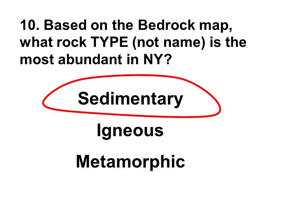 Sedimentary Igneous Metamorphic
