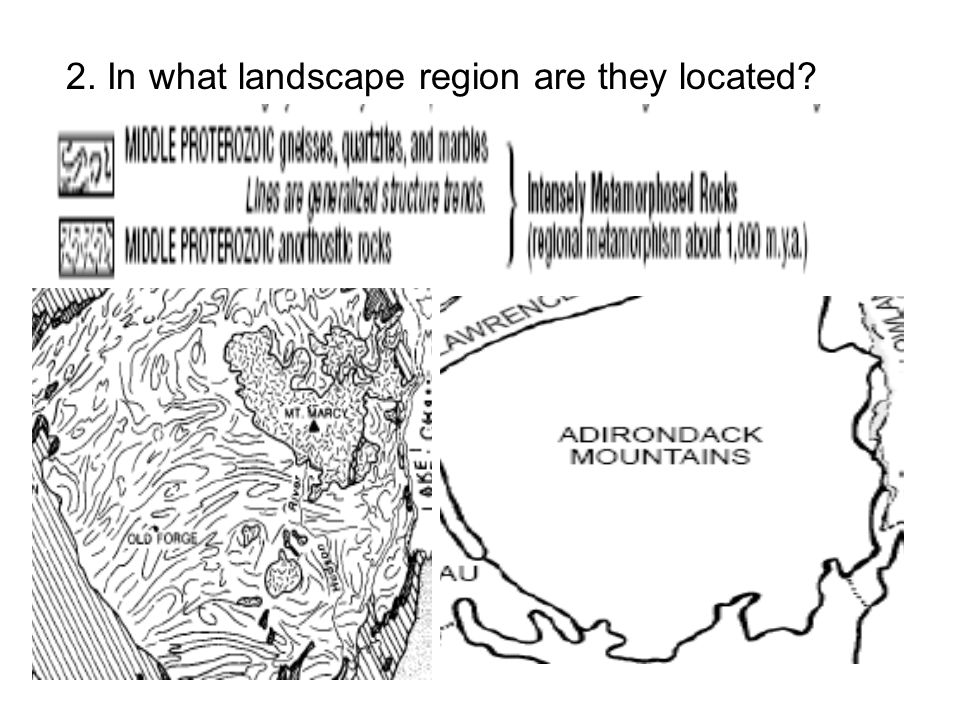 2. In what landscape region are they located