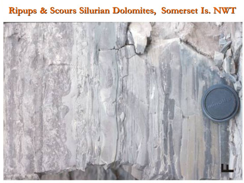 Ripups & Scours Silurian Dolomites, Somerset Is. NWT