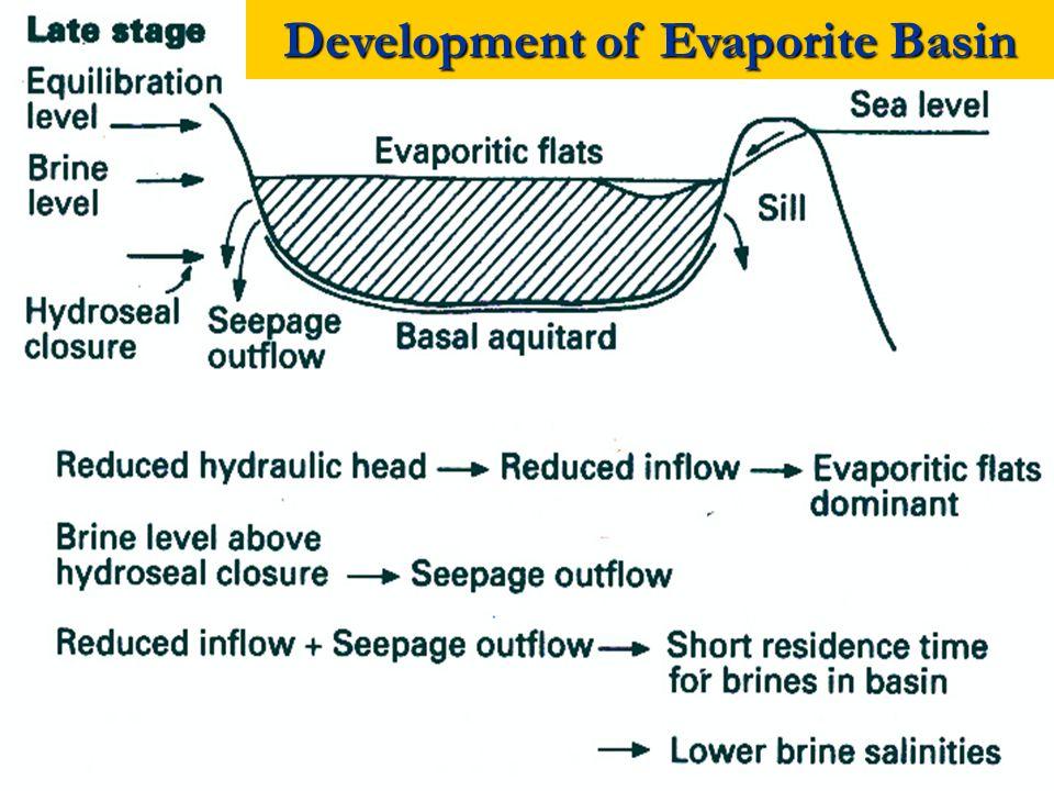 Development of Evaporite Basin