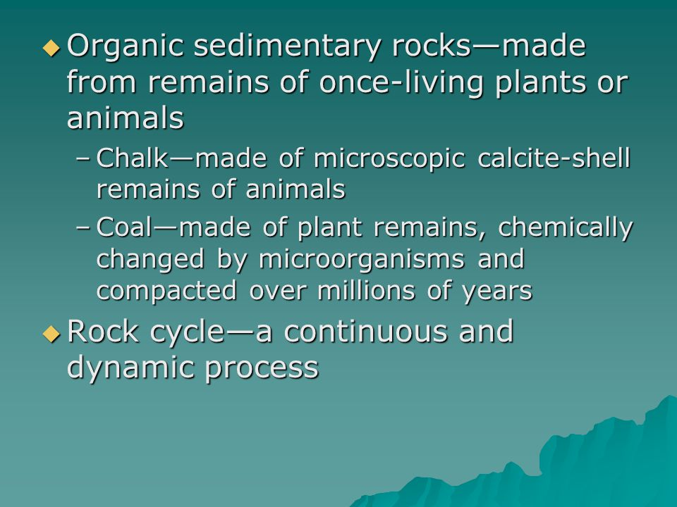 Rock cycle—a continuous and dynamic process