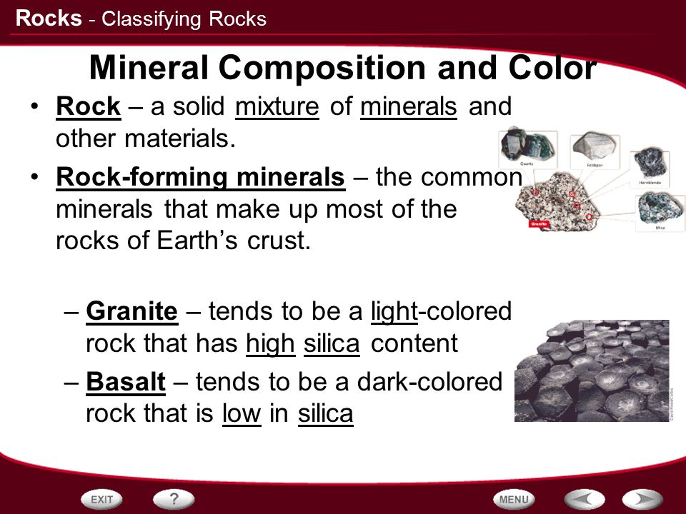 Mineral Composition and Color