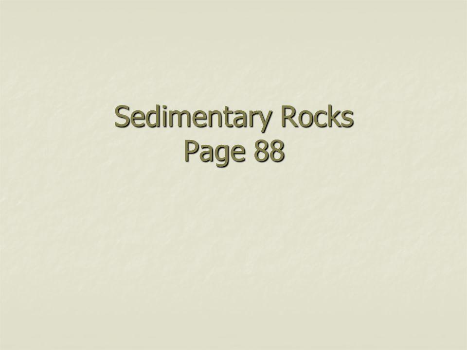 Sedimentary Rocks Page 88
