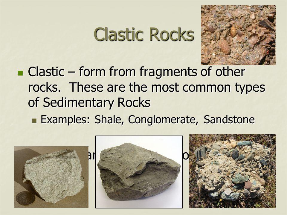 Schist Pumice Rocks pg 84 Pegmatite Gneiss Scoria coquina ...