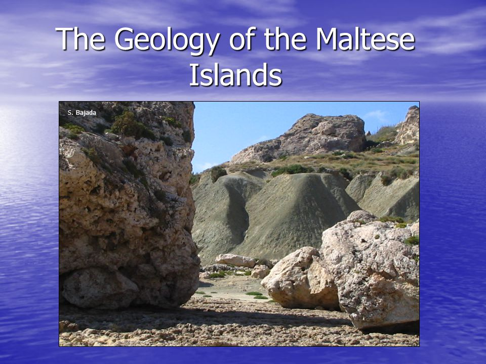 The Geology of the Maltese Islands