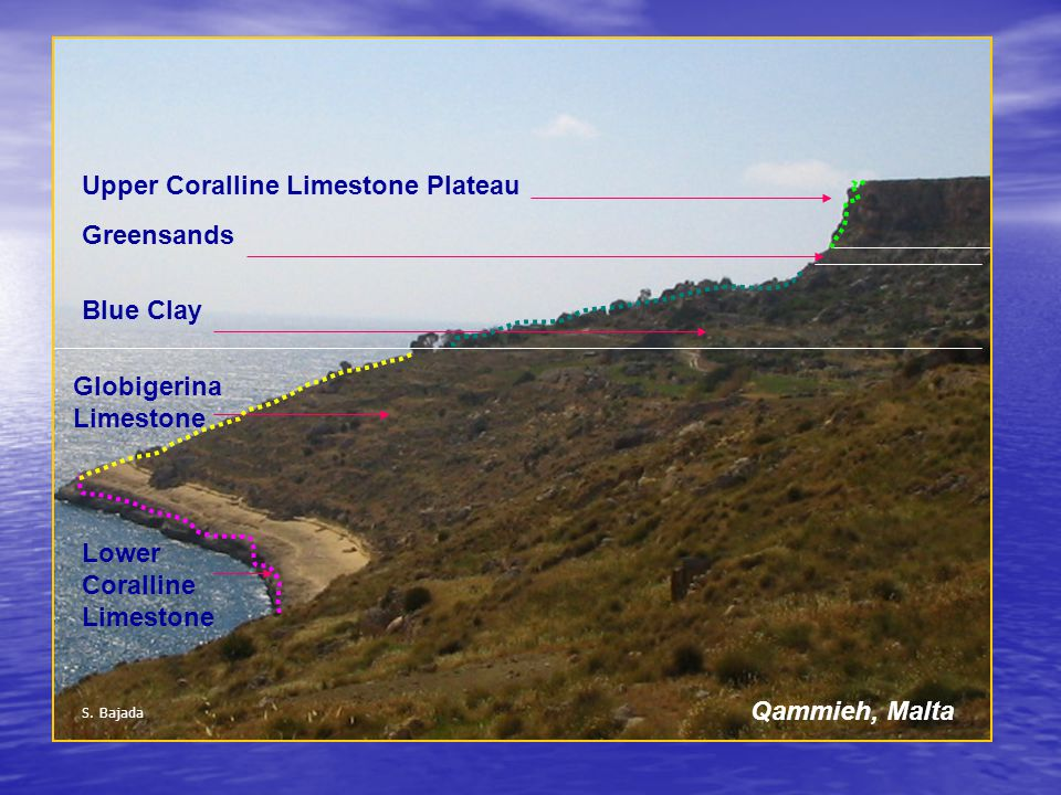 Upper Coralline Limestone Plateau