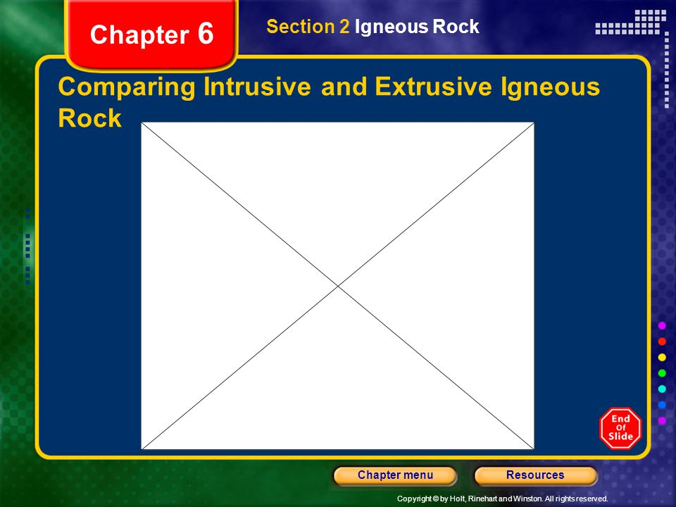Comparing Intrusive and Extrusive Igneous Rock