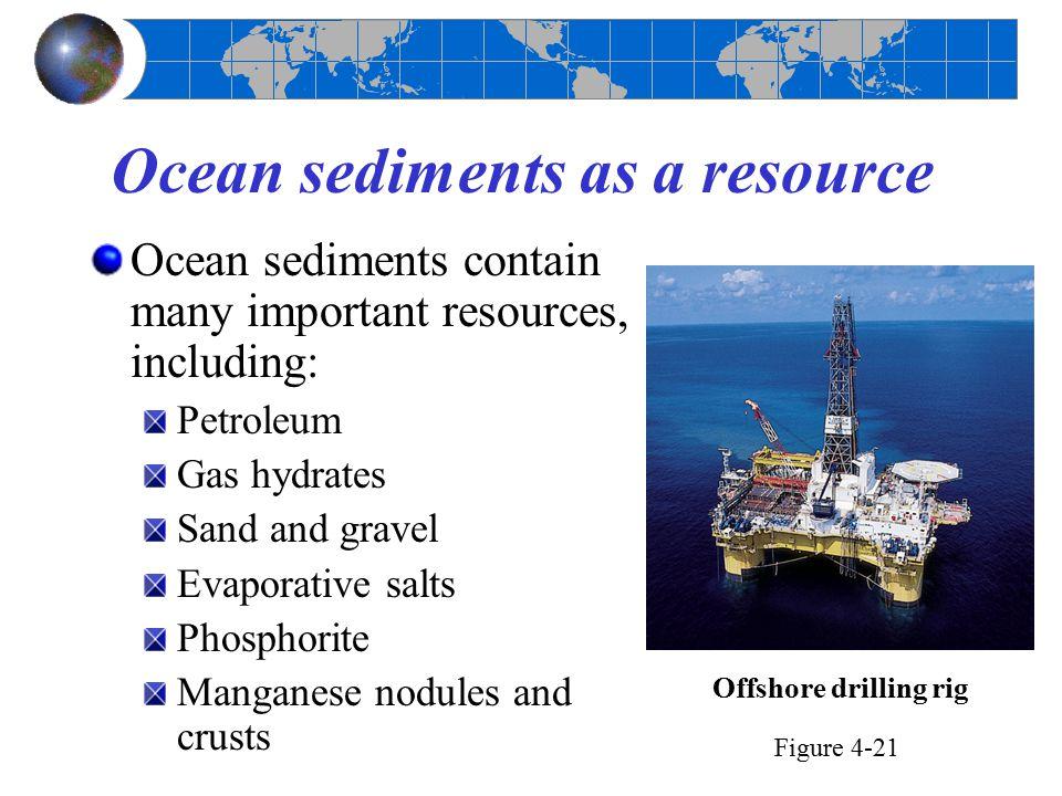 Ocean sediments as a resource
